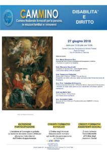Sede di Genova - Disabilità e diritto