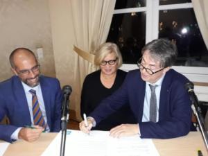 Firmata la lettera di intenti con l'Association des Avocats de la Famille. Parigi, 25 gennaio 2019