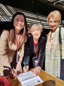 Firmata la collaborazione con l'Asociación Española de Abogados de Familia (AEAFA). Madrid, 23 febbraio 2018