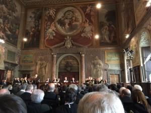 Inaugurazione anno giudiziario forense 2017. Roma, palazzo della Cancelleria, 14 febbraio 2017